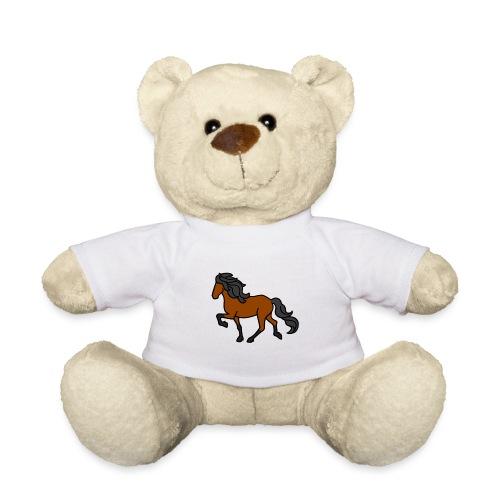 Islandpferd, Brauner, heller - Teddy