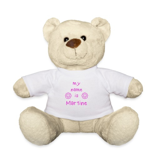 MARTINE MY NAME IS - Nounours