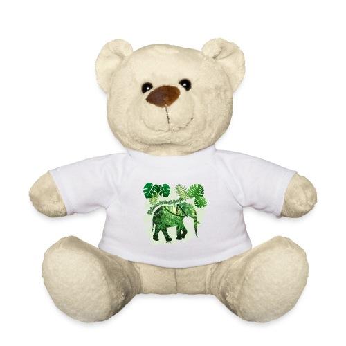 Dschungel - Elefant - Loxodonta cyclotis - Teddy