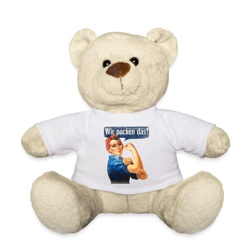 Wir packen das Frei 17cm - Teddy