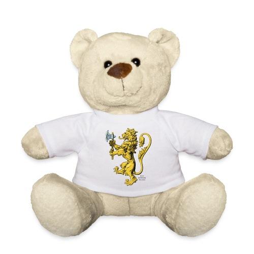 Den norske løve i gammel versjon - Teddybjørn