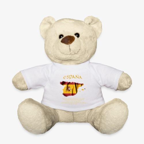 Spanische Flagge - Teddy