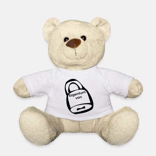 Vorhängeschloss Eigentum - Teddy