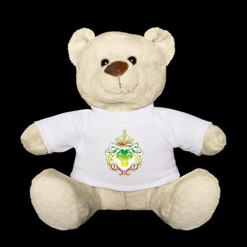 LION FACE RGG wht edge - Teddy Bear