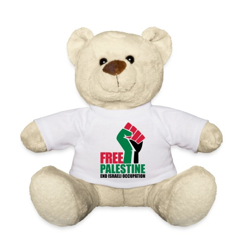 Free Palestine End Israeli Occupation - Teddy Bear