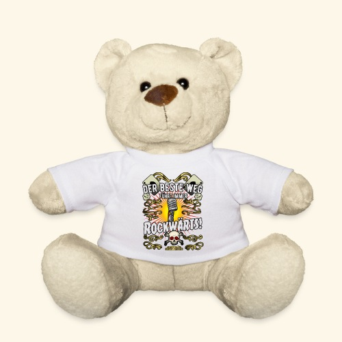 Rock Music Shirt ROCKWÄRTS - Teddy