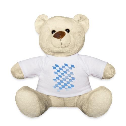 Himmlische Bayern Rauten Bayerische Fahne - Teddy