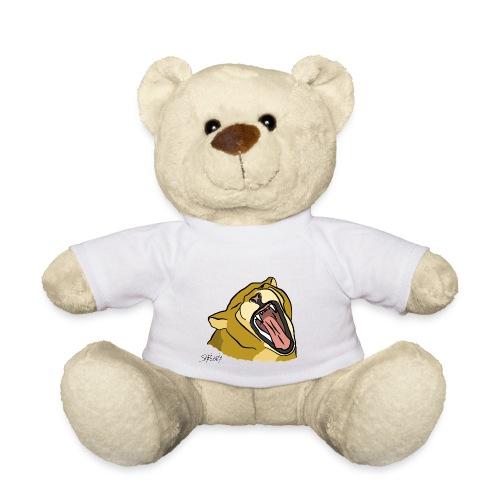 Gähnender / brüllender Löwe - Teddy