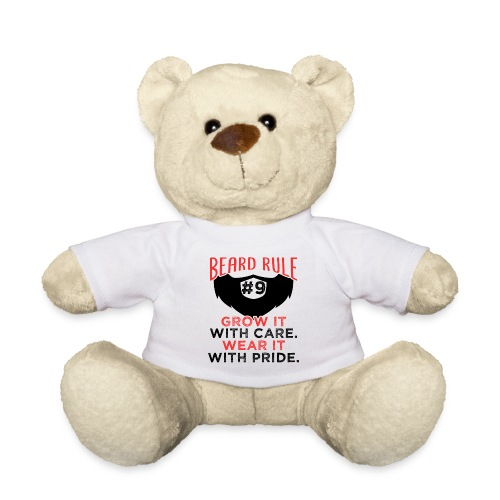 Beard Rule #9 - Teddy