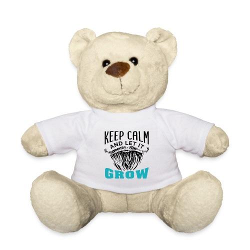 Beard Keep Calm And Let It Grow - Teddy