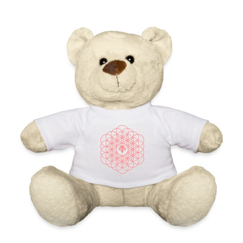 Blume des Lebens Pink - Teddy