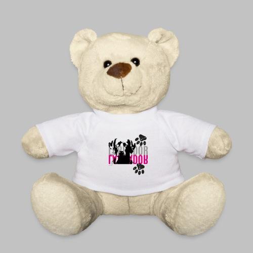 Labrador Kopf Pfoten - Teddy