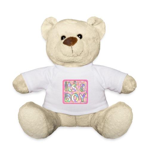 its a boy rosa text skylt - Teddy Bear