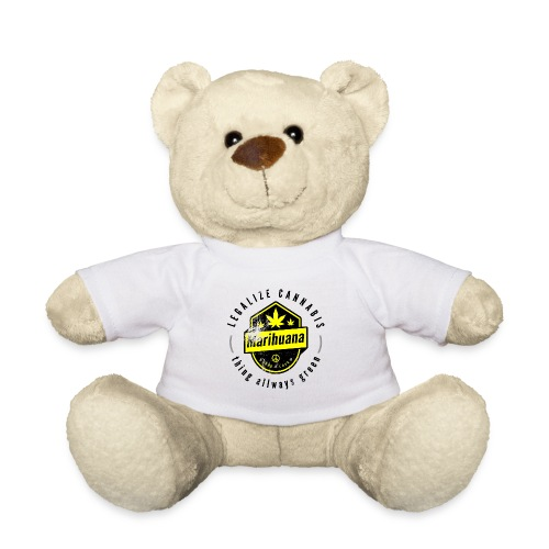 Legalize Cannabis Smoke Weed VINTAGE - marijuana - Teddy Bear