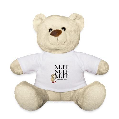 Nuff nuff nuff - Nicht bummeln Borstel! - schwarz - Teddy