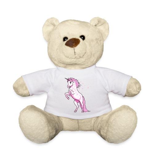 Pünktchen Einhorn Rosa - Teddy
