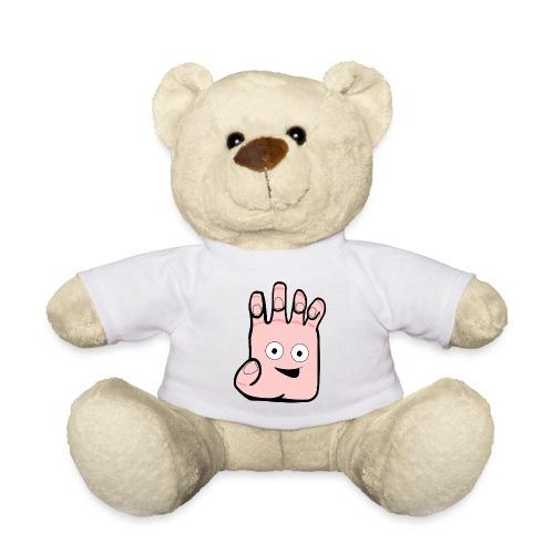Winky Hand Folded - Teddy Bear