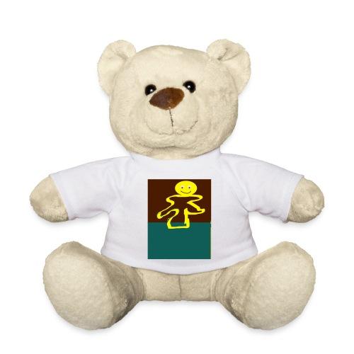 Glad mand - Teddybjørn
