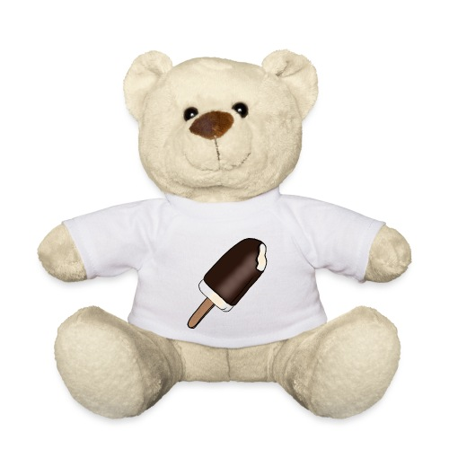 Eis am Stiel mit Schokoladenüberzug - Teddy