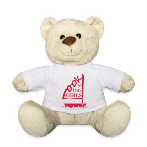 AndriesBik look thisGIRLS shirt witteletters - Teddy