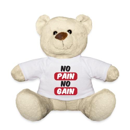 no pain no gain t shirt design fitness - Orsetto