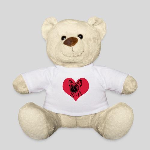 FranzBulldogge im Herz - Teddy