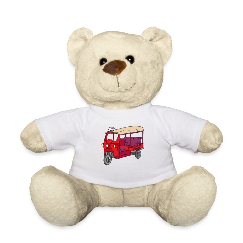 Rote Autorikscha, Tuk-tuk - Teddy