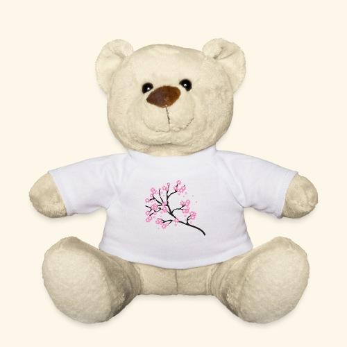 Pink blossoms branch - Teddy Bear