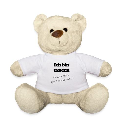 Ich bin Imker - schwarz - Teddy