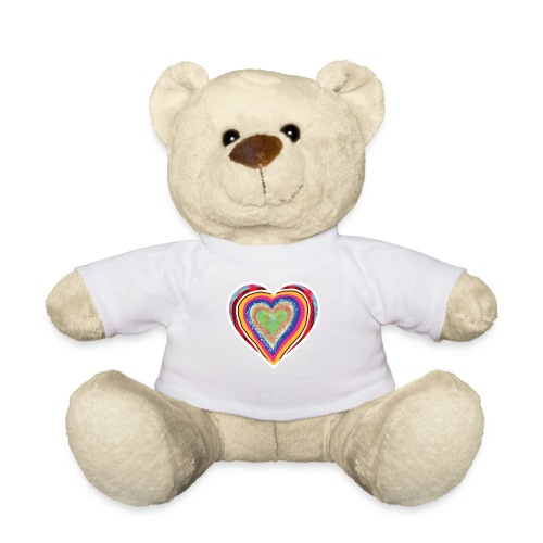 A heart in hearts is pure love on many levels - Teddy Bear