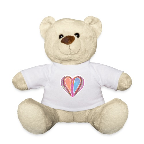 Hearts dont split, they get wings - Teddy Bear