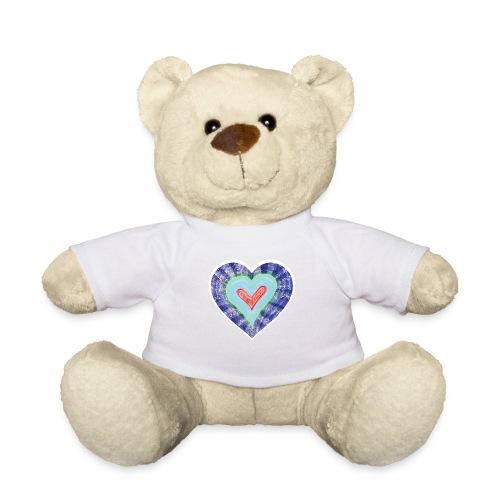 HeartSpread 18Little red heart in a green garden - Teddy Bear