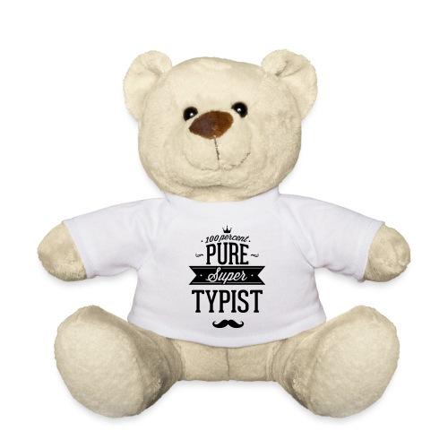 Zu 100% super Schreibkraft - Teddy