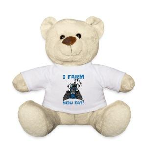 I farm you eat blauw - Teddy