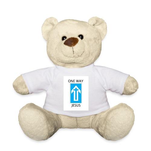 One Way, Jesus - Teddy Bear