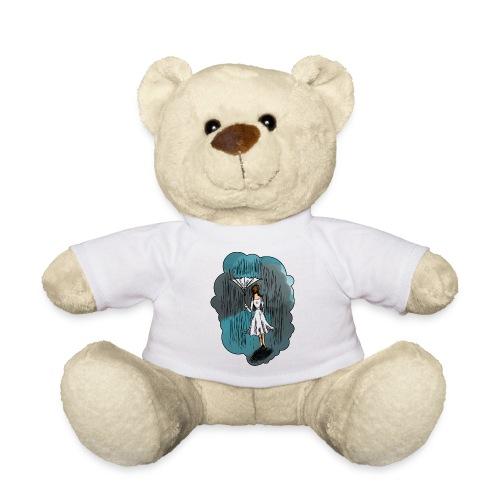 Upside Down Umbrella - Teddy Bear