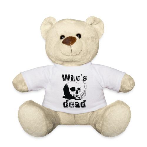Who's dead - Black - Orsetto