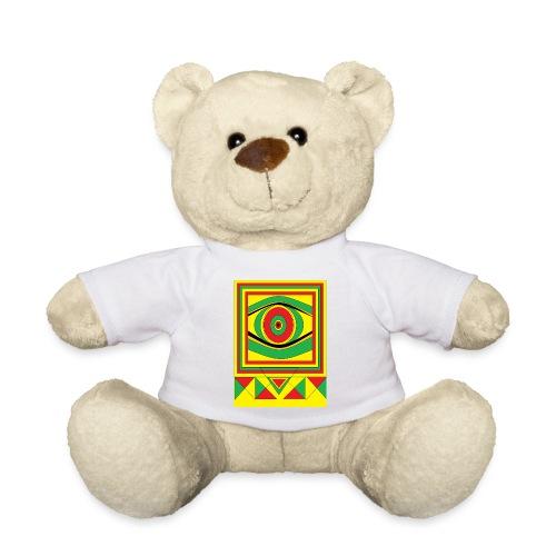 ALL seeing eye RASTA burn down babylon Original - Teddy