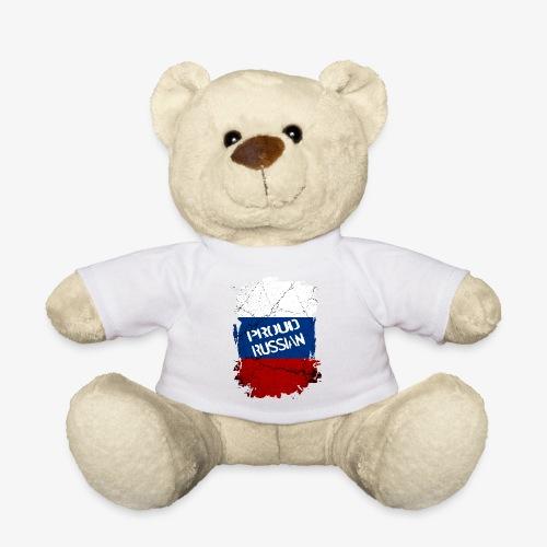 proud russian Stolzer Russe Stolze russin - Teddy