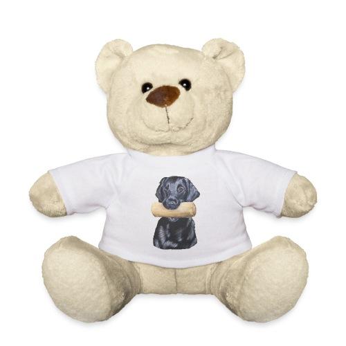 flatcoated retriever Dumbbell - Teddybjørn