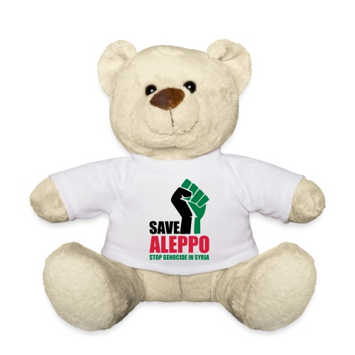 SAVE ALEPPO - Teddy Bear