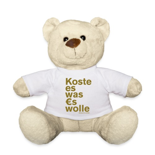 Koste es was es wolle - Teddy