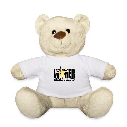 a winner never Quits - Teddy
