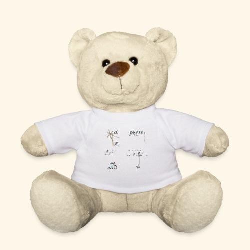 Krähe_warten - Teddy