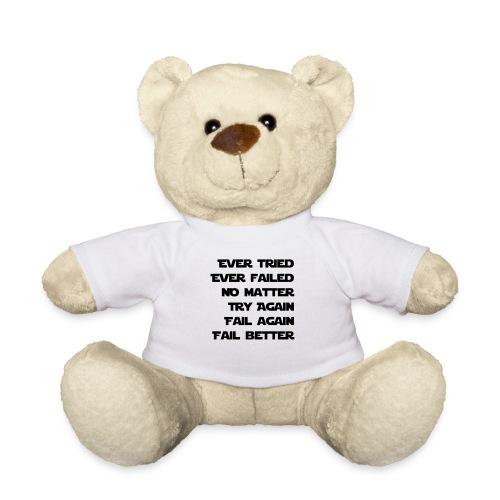 EVER TRIED, EVER FAILED - Teddy