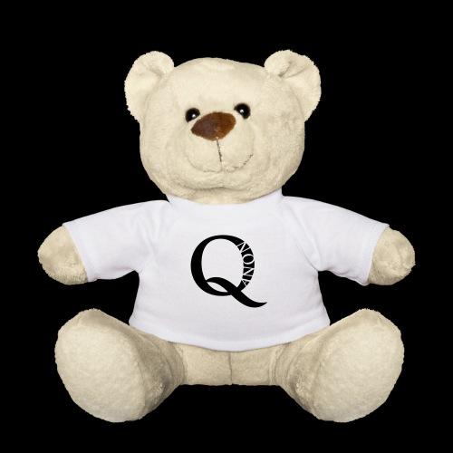 Q Anon Q-Anon Original Logo - Teddy