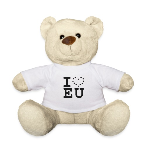 i love EU European Union Brexit - Teddy Bear