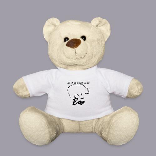 Ich bin so schlank wie ein Bär - Teddy