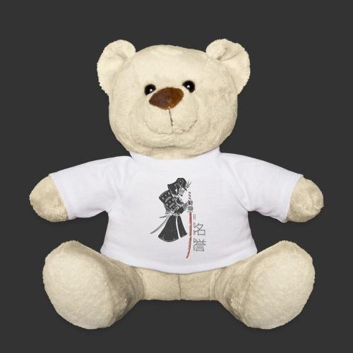Samurai Digital Print - Teddy Bear