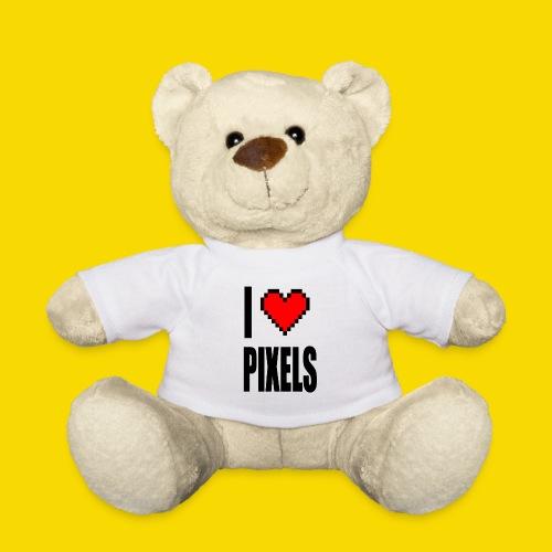 I Love Pixels - Miś w koszulce